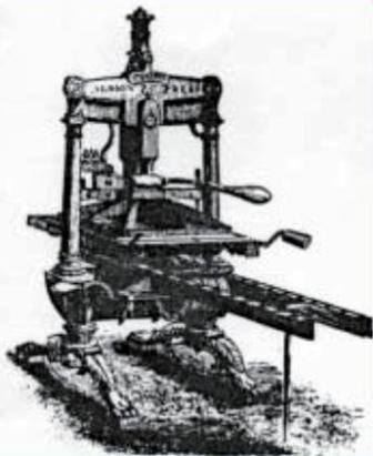 Albion Press from a wood-cut by George Baxter