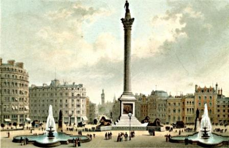 Trafalgar Square by Thomas Nelson