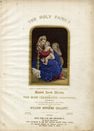 George Baxter's The Holy Family on Music Cover