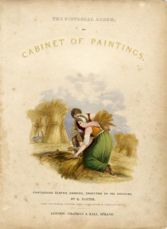 George Baxter's Title Page to The Cabinet of Paintings