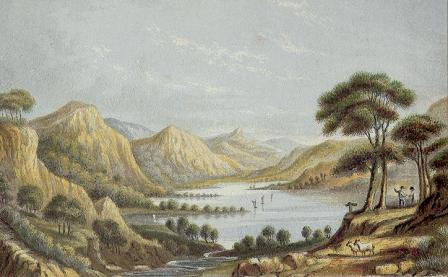 Head of Derwentwater printed by Abraham Le Blond