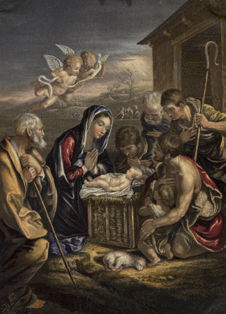 The Birth of the Saviour by George Baxter