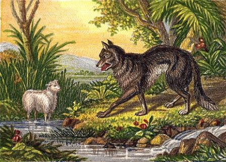 Joseph Mansell's The Wolf and the Lamb