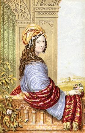 The Moorish Bride printed by Abraham Le Blond