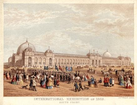 Joseph Mansell's International Exhibition of 1862 - South Front