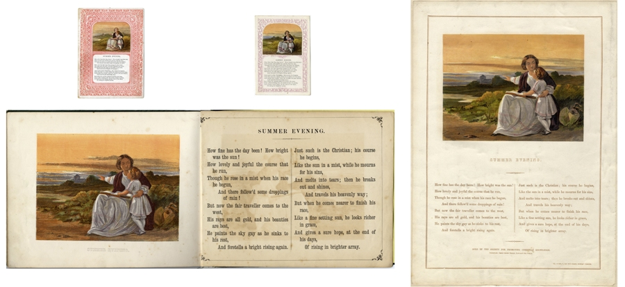 Versions of Summer printed by William Dickes