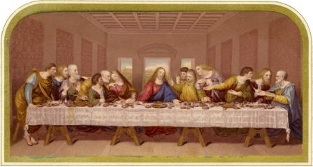 The Last Supper printed by Bradshaw & Blacklock