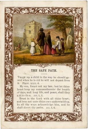 The Safe Path a Reward Card by William Dickes